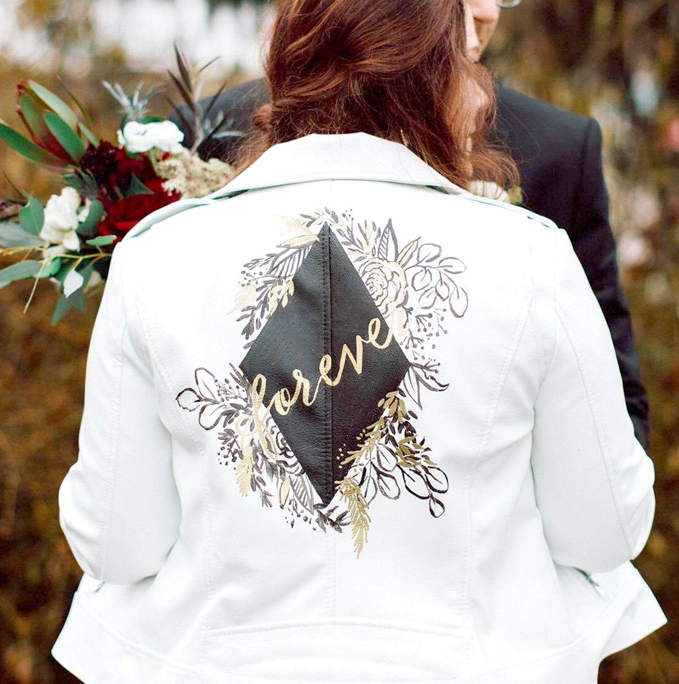Custom Jacket Painting Service