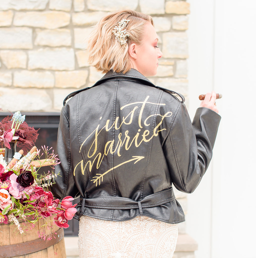 Just Married Jacket | RENTAL