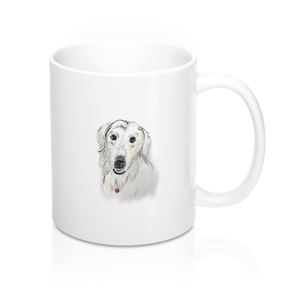 Custom Pet Mug, Pet Painting on Mug, Animal on Mug, Dog Mug, Cat Mug