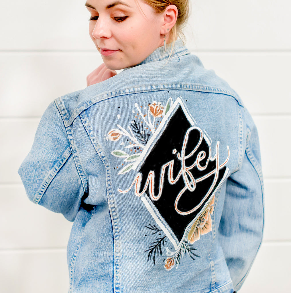 Wifey Jacket Photo Prop | RENTAL