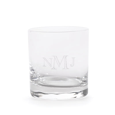 Personalized Rocks Glass Whiskey Glass