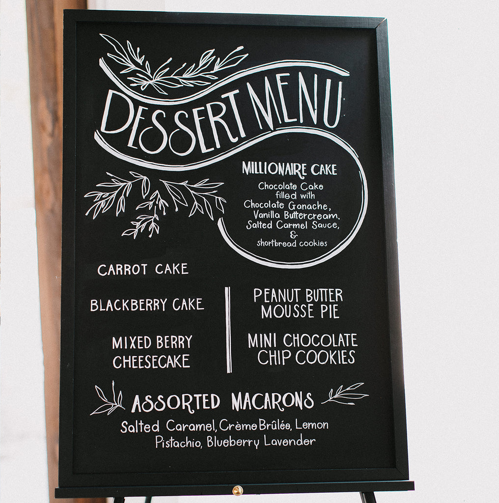 "26"" x 30"" Medium Chalk Board 