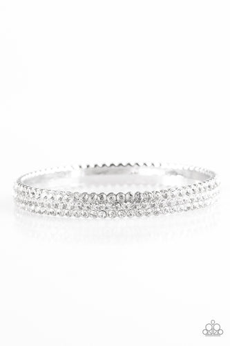 Ballroom Bling Rhinestone Bangle Bracelet Paparazzi
