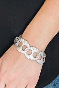 Casual Connoisseur - Silver Bracelet - The Paparazzi Fox
