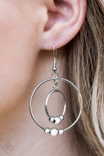 Load image into Gallery viewer, Center of Attraction - Silver Hoops - The Paparazzi Fox