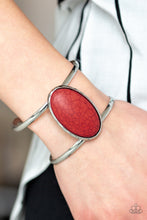Load image into Gallery viewer, Desert Empress - Red Cuff bracelet - The Paparazzi Fox