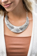 Load image into Gallery viewer, Geographic Goddess - Silver Necklace - The Paparazzi Fox