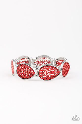 Heirloom Hunter - Red Bracelet - The Paparazzi Fox