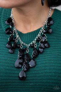Irresistible Iridescence - Black Necklace - The Paparazzi Fox
