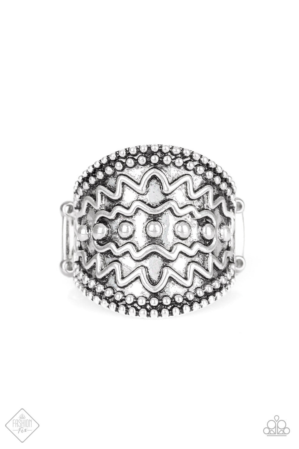 Island Rover Silver Ring - The Paparazzi Fox