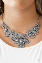 Load image into Gallery viewer, Mess With The Bull Silver Necklace The Paparazzi Fox
