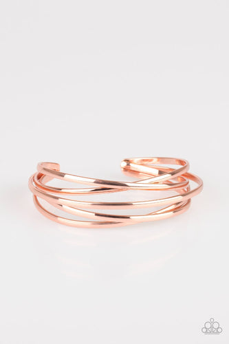 Modest Goddess - Copper Cuff Bracelet - The Paparazzi Fox