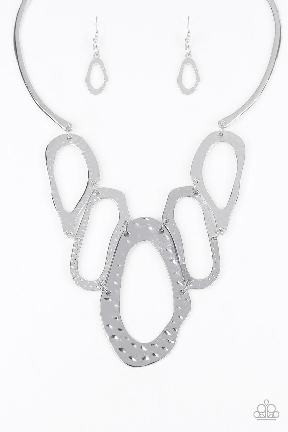 Prime Prowess Silver Necklace Paparazzi