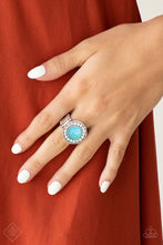 Load image into Gallery viewer, Rugged Radiance - Turquoise Ring - The Paparazzi Fox