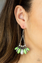 Load image into Gallery viewer, Terra Tribe - Green earrings - The Paparazzi Fox