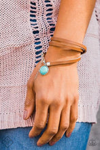 Load image into Gallery viewer, Tranquil Trekker - Turquoise Bracelet - The Paparazzi Fox