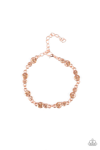 Twinkle Twinkle Little Starlet - Copper Bracelet - The Paparazzi Fox
