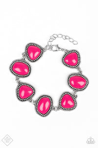 Vividly Vixen Pink Bracelet - The Paparazzi Fox
