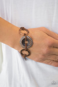 Way Wild - Copper Bracelet The Paparazzi Fox