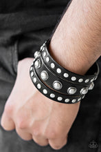 Load image into Gallery viewer, Win Your Spurs - Black Bracelet - The Paparazzi Fox