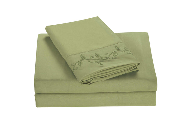 Sheet Set Embroidery-1200 #3688-main