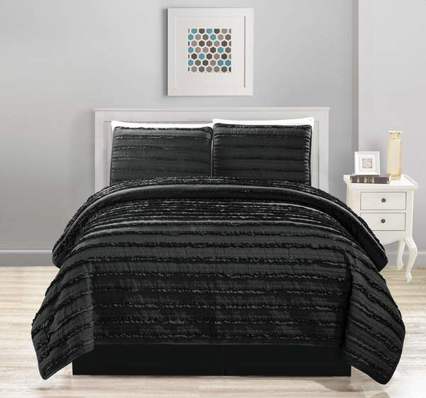 Bedspread 4-Pcs Set Solid 5102