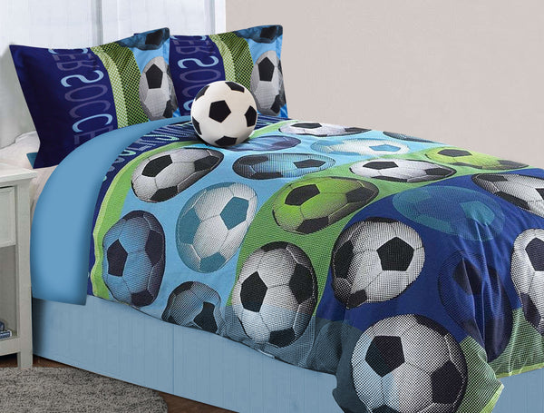 Soccer Bedding Set - Full Comfort