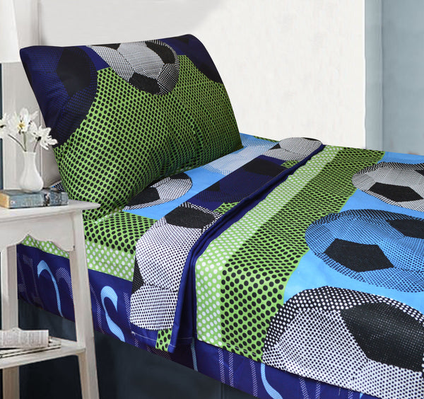 Soccer Bedding Set - Full Sheet