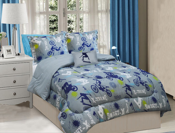 X-Treme Sports Bedding Set - Full Comfort