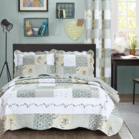 Bedspread Printed AHF-2012208 - King Oversize