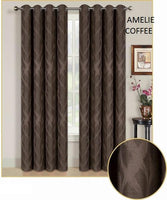 2 Panels Black Out Curtain #Amelie