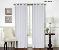 1-Panel Curtain With/Grommets Amy