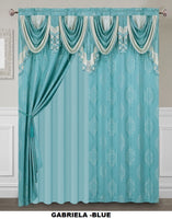 CURTAINS GABRIELA 2 PANELS