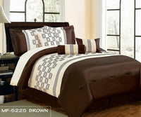 Flocking MF5225-Brown - Brown, Queen