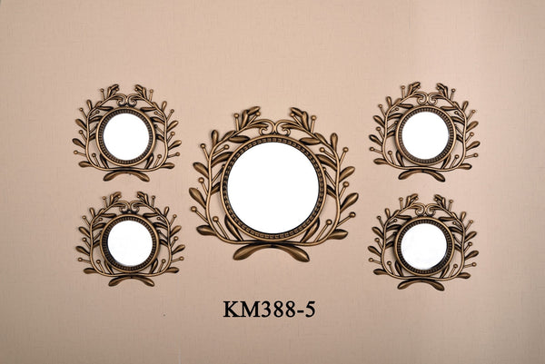 MIRROR WALL DECOR 5-PCS KM388-5
