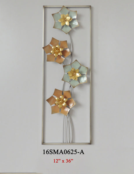 METAL WALL DECOR #16SMA0625-A