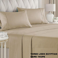 SHEETS SET 2200 SERIES THREE LINES EGYPTIAN