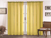Doli Sheer Curtain - Yellow