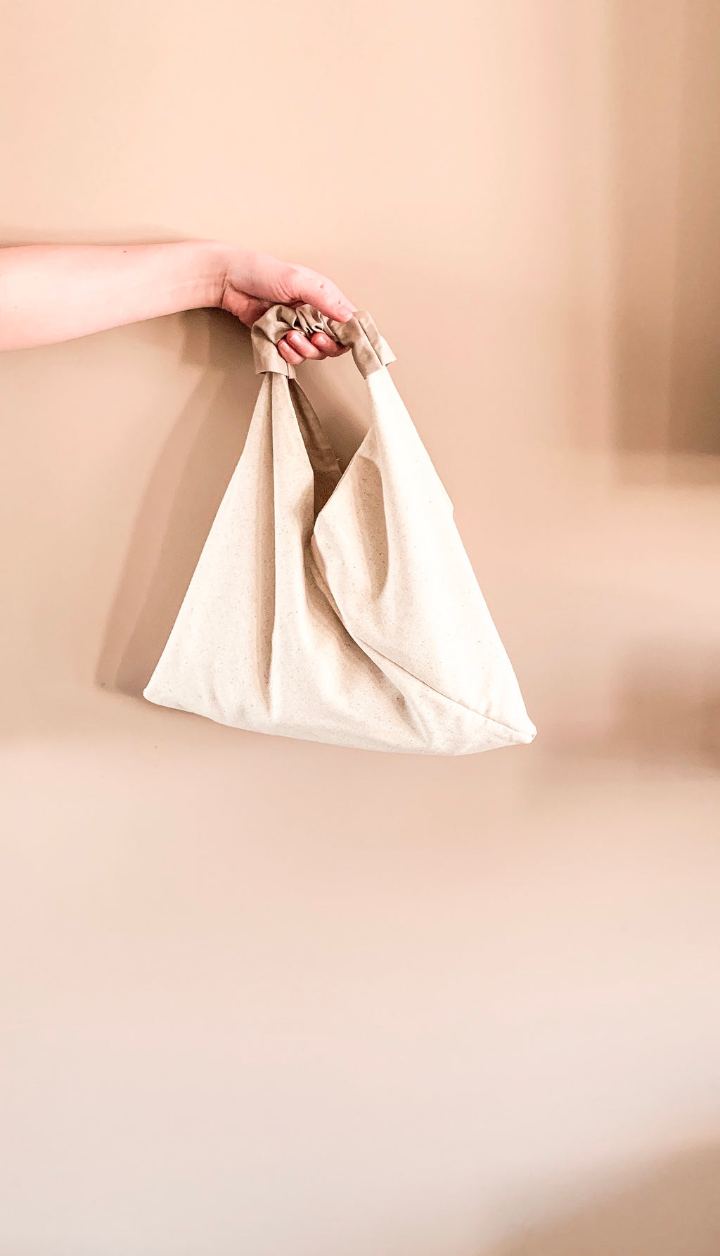 Handmade Origami Canvas Tote