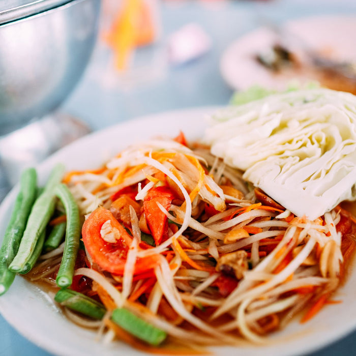 Som Tum (Thai Green Papaya Salad) Recipe - yin-yam-asian-grocery