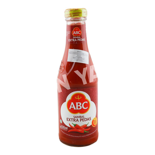 ABC Sauce Sambal (Extra Pedas) 335ml - Yin Yam - Asian Grocery