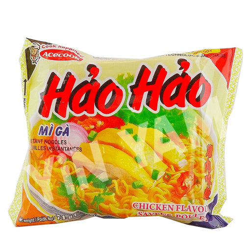 Acecook Mi Ga Hao Hao Chicken Flavour Instant Noodles 74g - Yin Yam - Asian Grocery