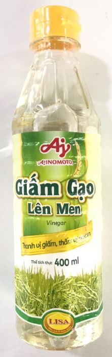 Ajinomoto Vinegar Giam Gao Len Men 400ml - Yin Yam - Asian Grocery