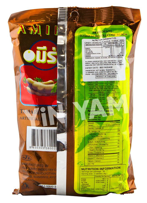Amira Candy Tamarind Flavour 300g - Yin Yam - Asian Grocery