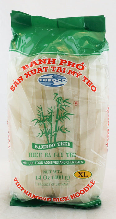 Bamboo Tree BANH PHO Vietnamese Rice Noodle (XL) 400g - Yin Yam - Asian Grocery
