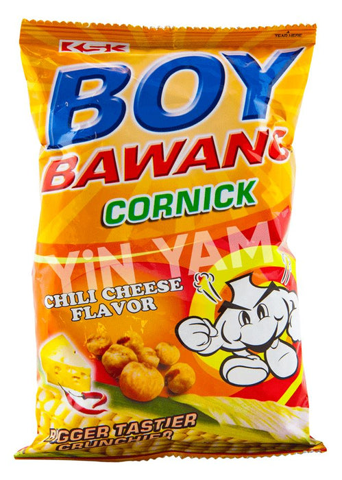 Boy Bawang Chili Cheese (Small) 100g - Yin Yam - Asian Grocery