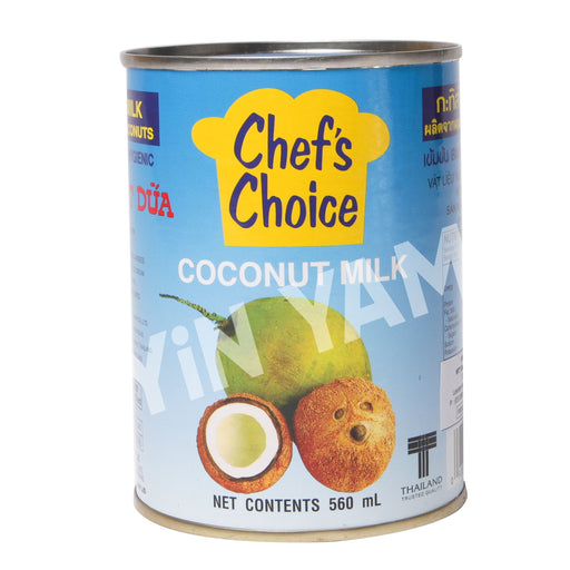 Chef's Choice Coconut Milk 560ml - Yin Yam - Asian Grocery