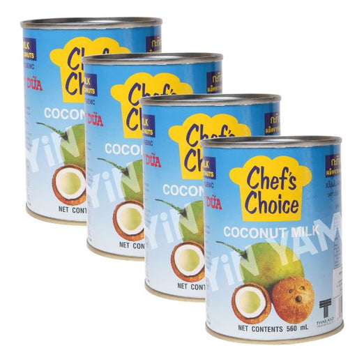 Chef's Choice Coconut Milk 560ml-Pack of 4