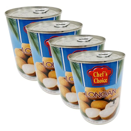 Chef's Choice LONGAN in Syrup 565g-Pack of 4