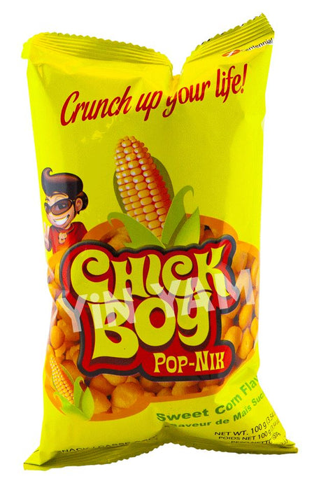 Chick Boy Pop Nik SWEET CORN 100g - Yin Yam - Asian Grocery